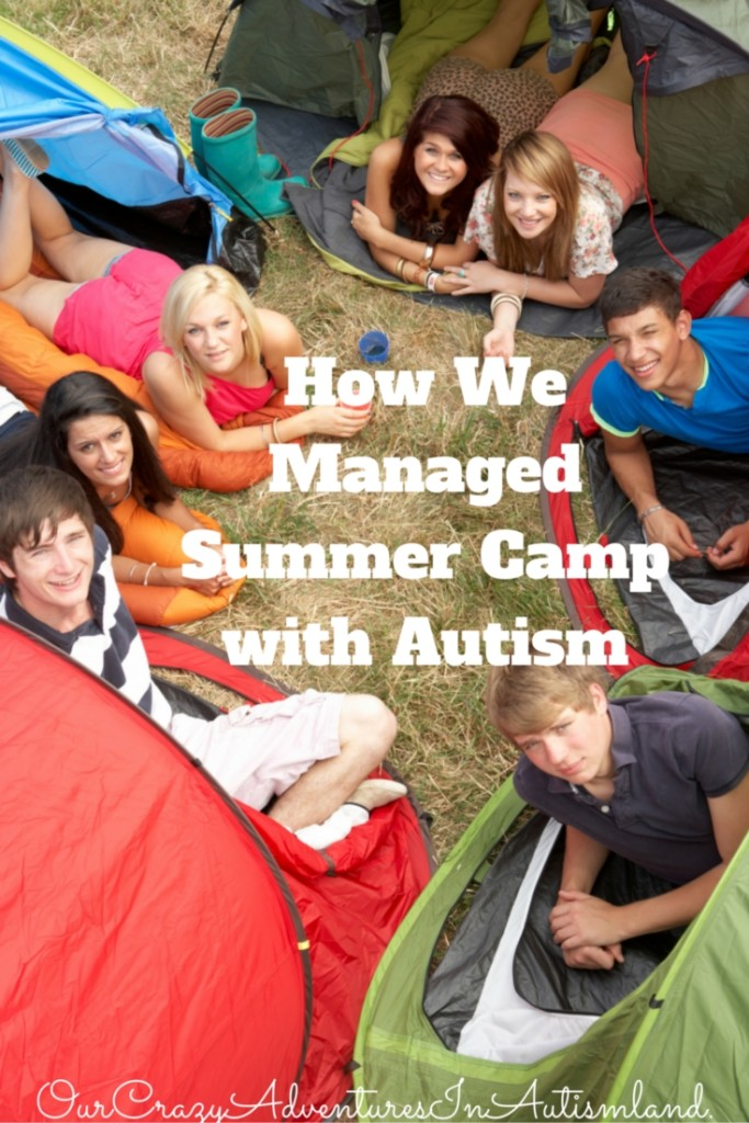 Ways we made summer camp successful for our child with autism