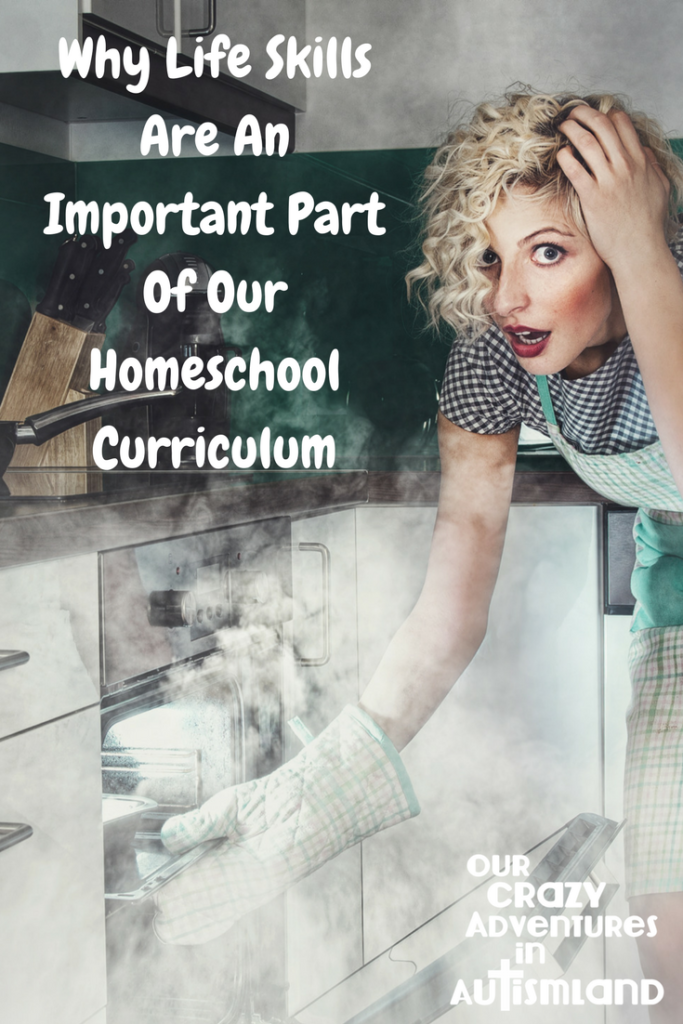 Why life skills are an important part of our homeschool curriculum is because the more independence our kids have then the better they are in life.