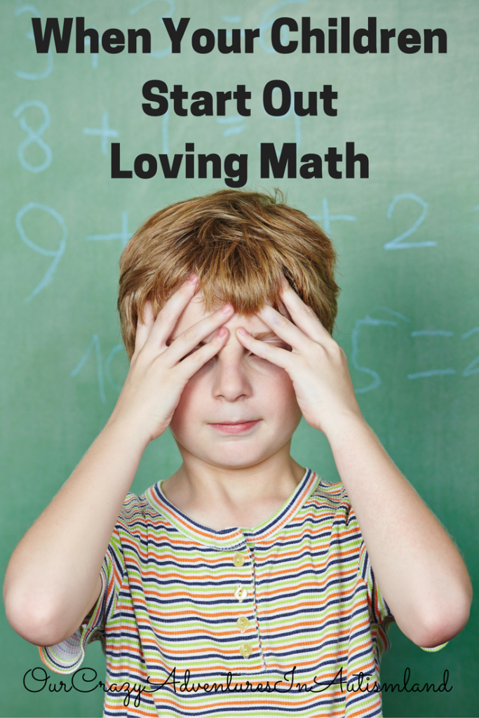 When your children start out loving math, you want to encourage that as they develop. What do you do when it becomes frustrating for them?