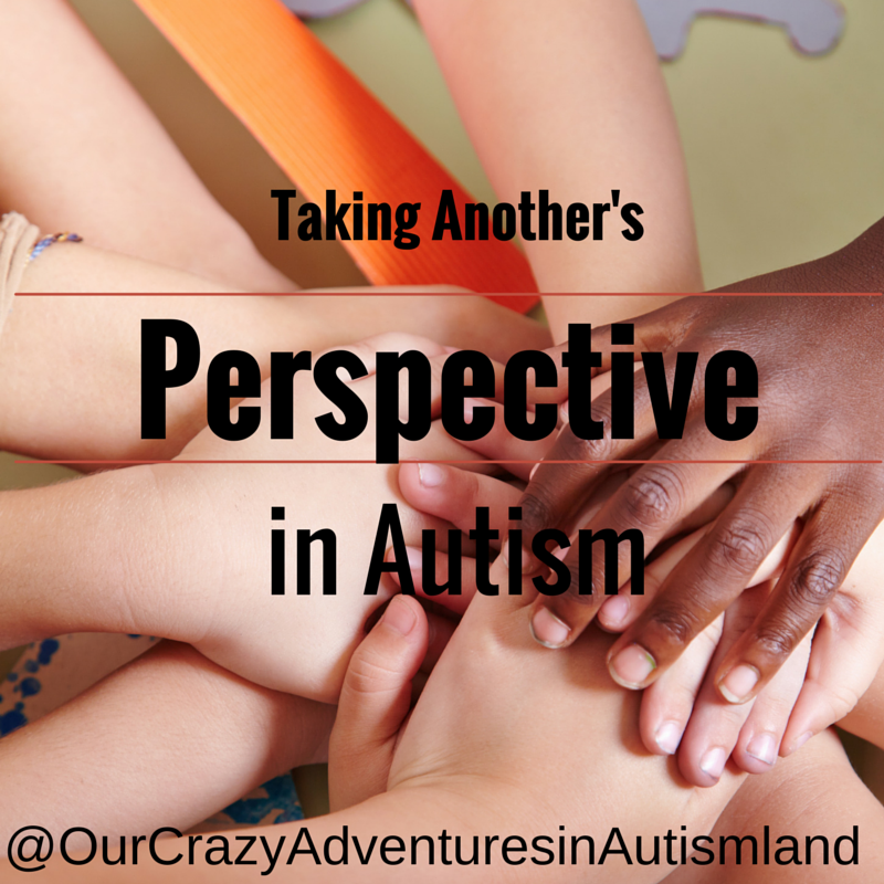 Taking Another's Perspective in autism is a huge developmental milestone