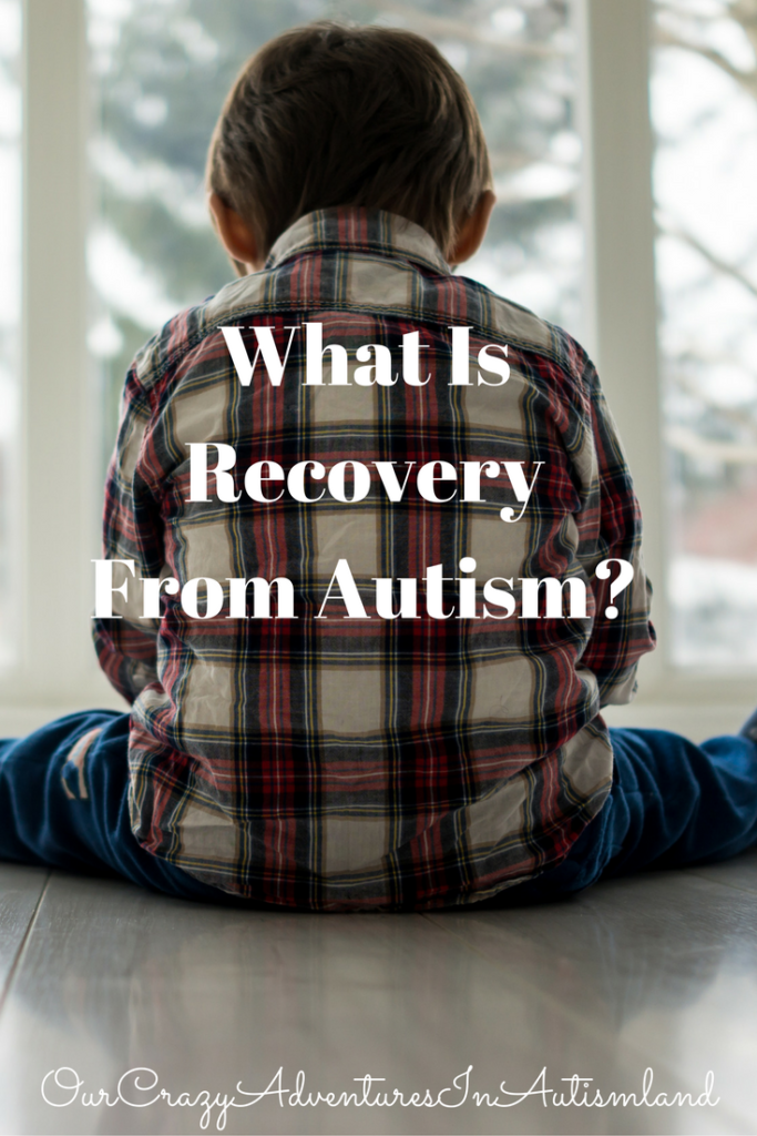 What is recovery from autism? Is that even possible? See how one family defines their child's progress from the effects of autism.