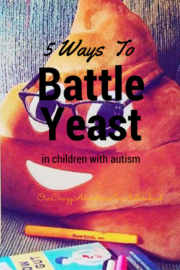 5 ways to battle yeast in children with autism shows you ways to battle yeast. This is a common medical issue in children with autism.