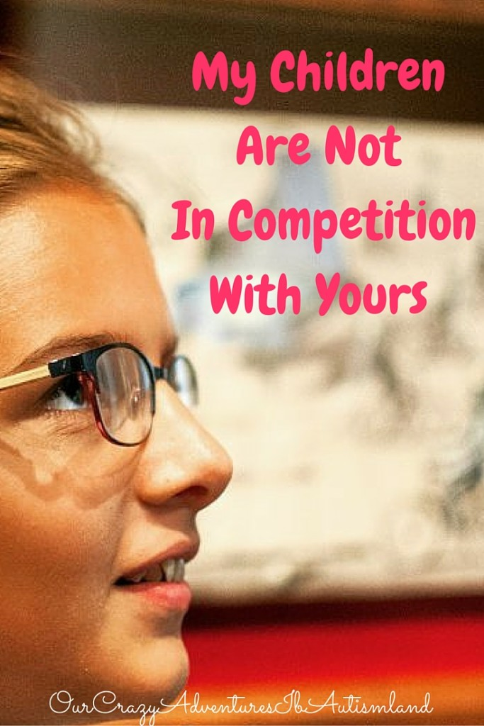 My Children Are Not In Competition With Yours