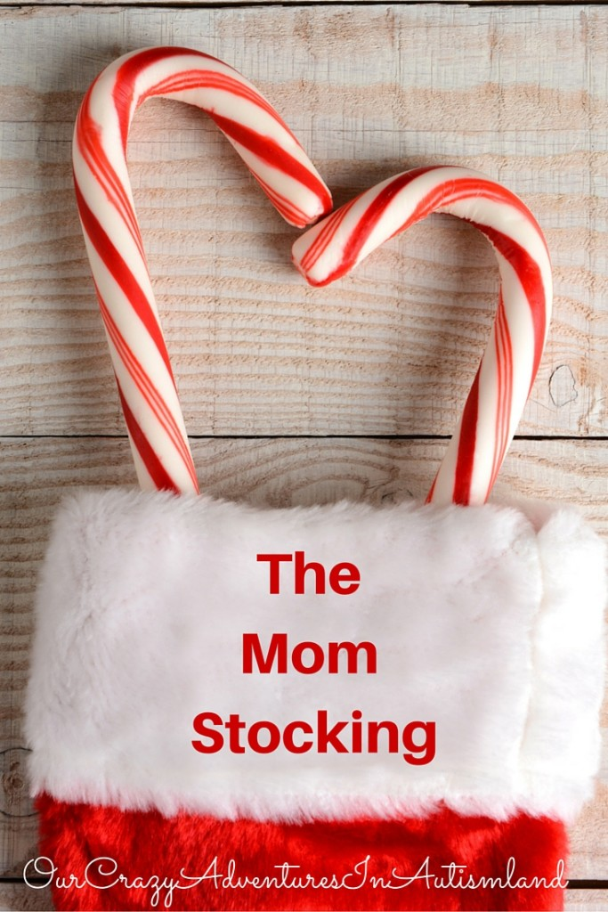 Looking for a way to bless a single, divorced or widowed mom this Christmas? Make her a stocking of her very own.