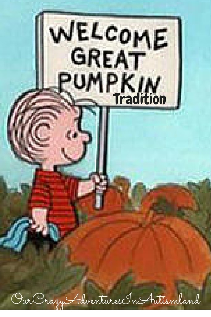 Our Great Pumpkin tradition is a great way to exchange candy from our food allergic children after trick or treating.