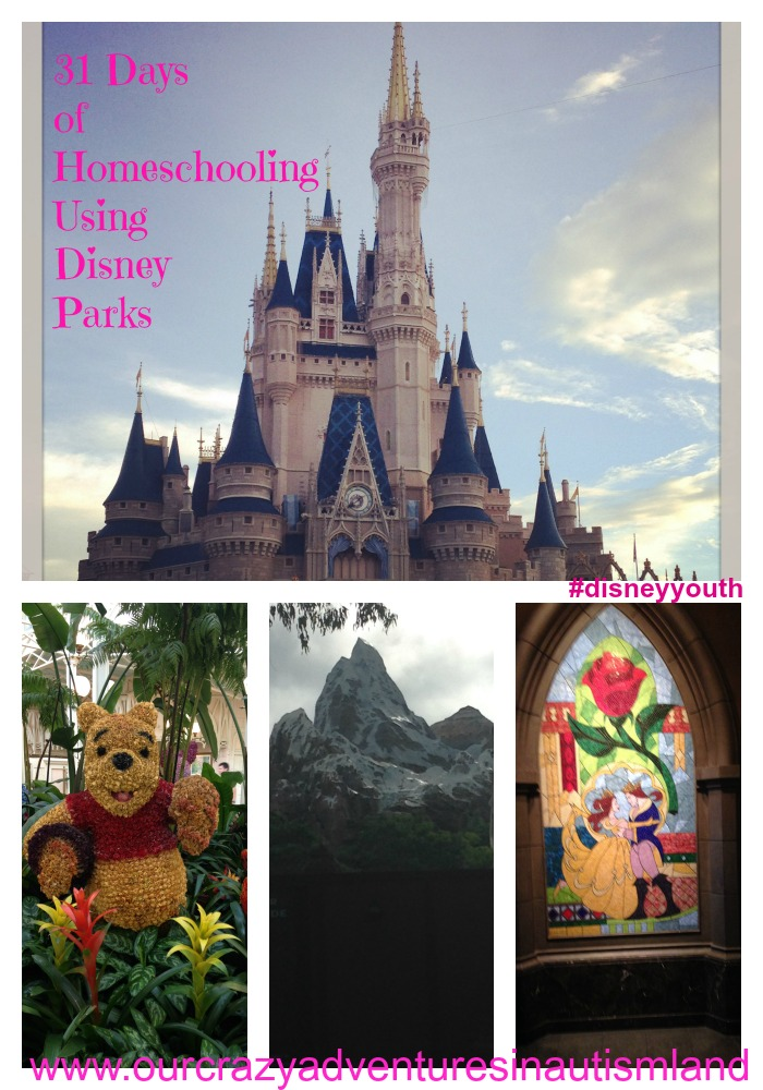 31 days to Homeschooling Using Disney Parks