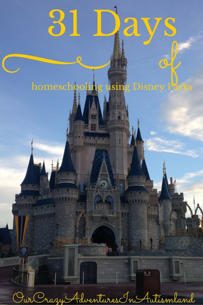 A series to show you how to use Disney to homeschool your children.