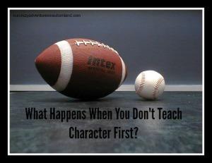 Character always trumps academics
