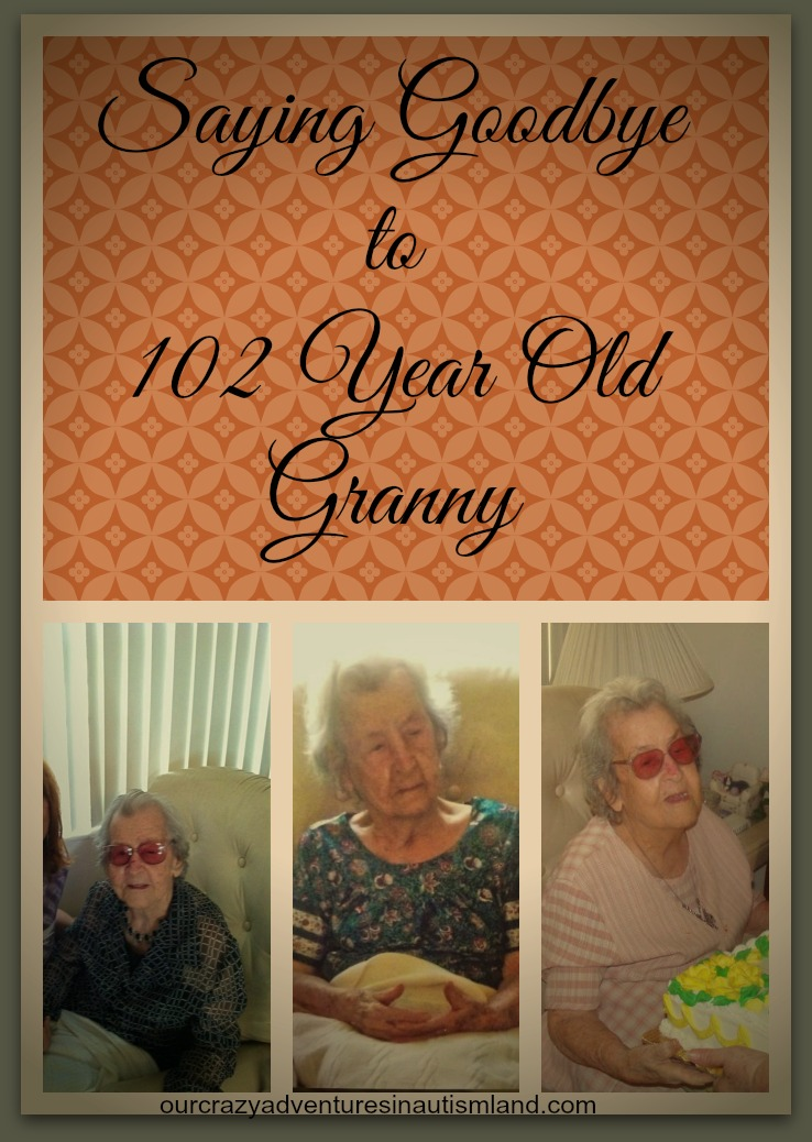 Saying Goodbye to 102 year old Granny