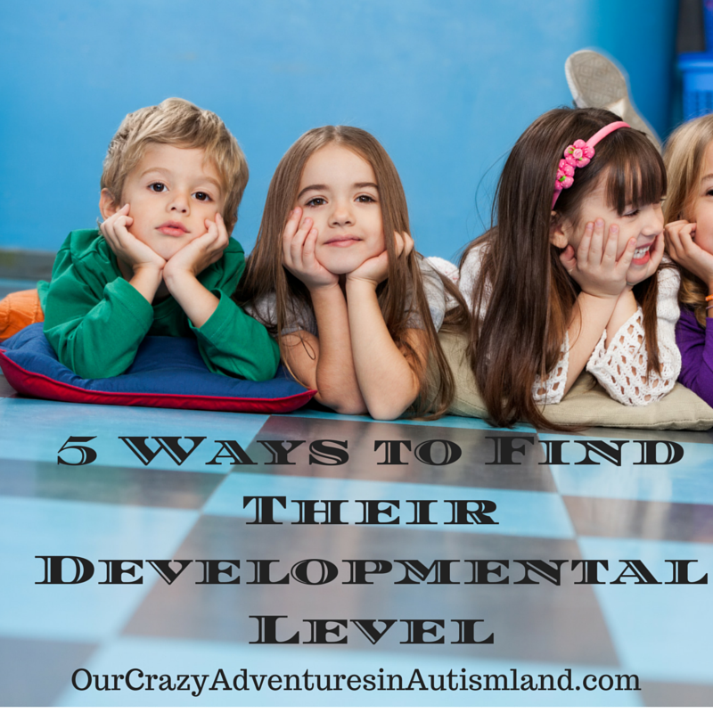 5 Ways to Find Their Developmental Level is day 2 of the 31 day series. In this one. we talk about the importance of finding your child's developmental level in order to make her successful.