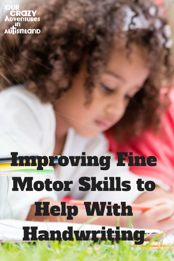 Improving fine motor skills to help with handwriting is a plethora of ways to help build hand strength in addition to fine motor.