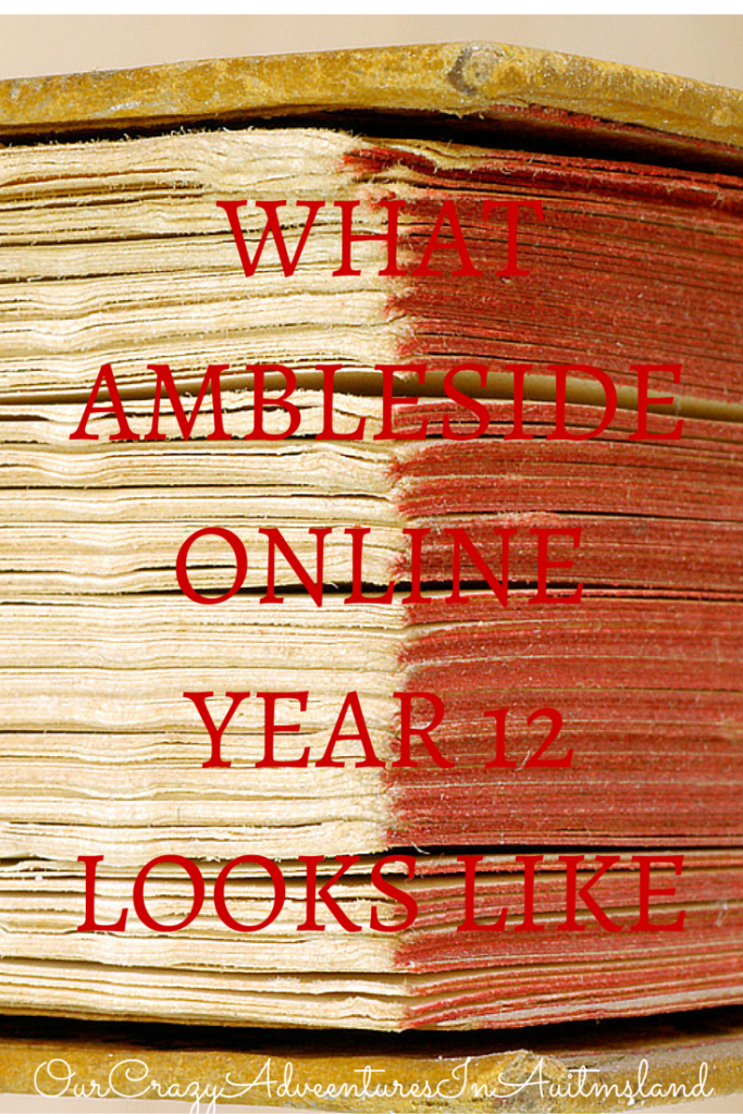 How to do Ambleside Online for your child with autism for their senior year