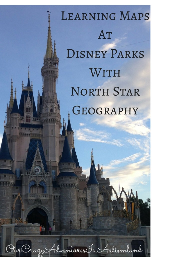 A great place to learn map skills is using the parks at Walt Disney World with North Star Geography from Bright Ideas Press