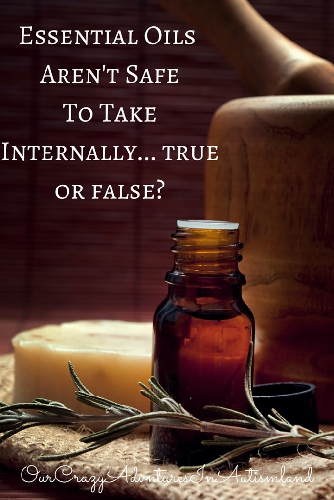 Is it possible to ingest essential oils responsibly?