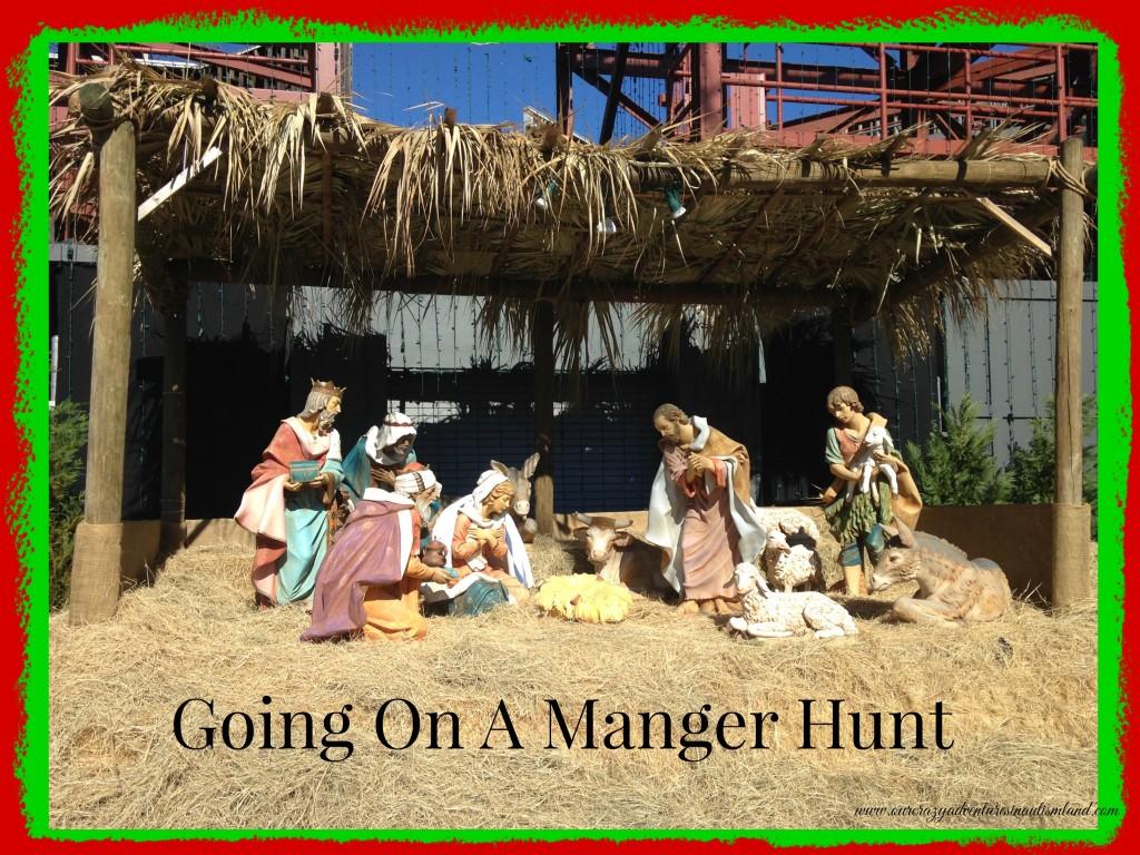 Going On A Manger Hunt