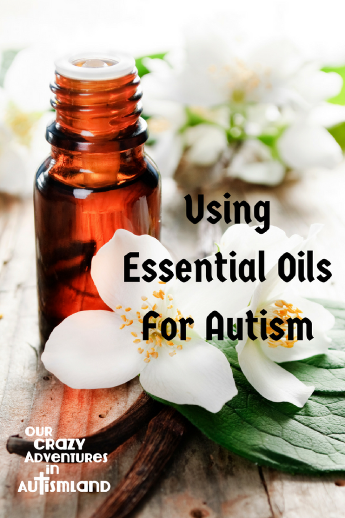 Using Essential Oils To Help with Autism shows you how one mom treated  some common autism symptoms using only essential oils.