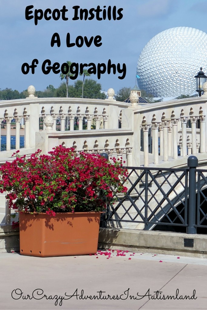 Epcot is a great place to nurture a love of geography without immense amounts of traveling.