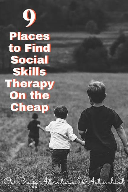 9 Places TO Find  Social Skills Therapy On The Cheap