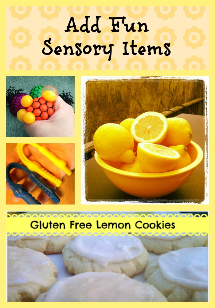 Add Fun Sensory Items