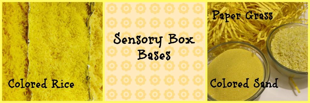 Sensory Box Bases