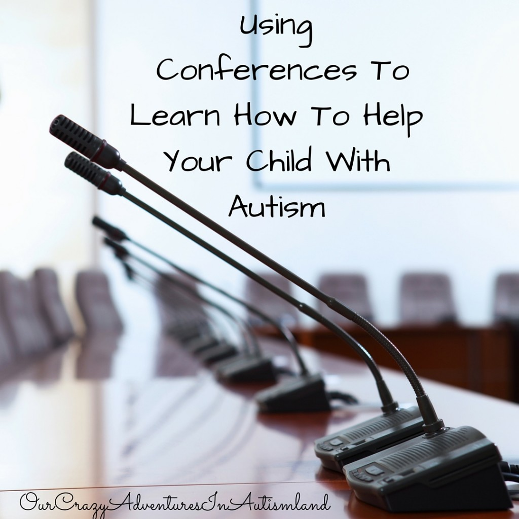 Conferences can be a money saving tool that saves you hundreds if not thousands of dollars in your autism action plan.