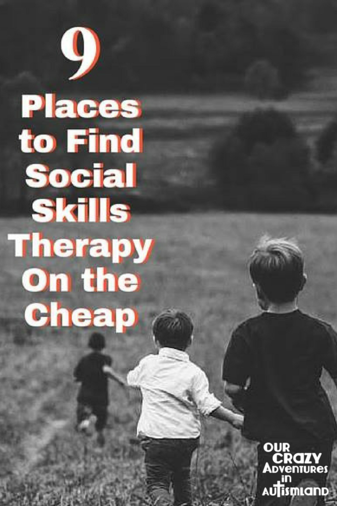9 places to find social skills therapy on the cheap shows you an affordable way to work on essential skills with your child with autism.
