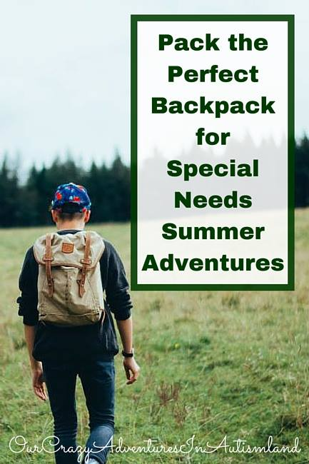 You should never travel without a backpack with some essentials . It can be the difference between a successful excursion and a terrible meltdown.