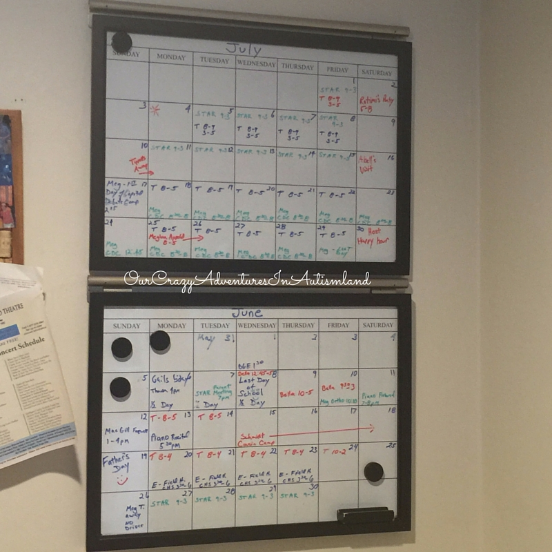 Make a calendar of holiday events where everyone can see it and add to it.