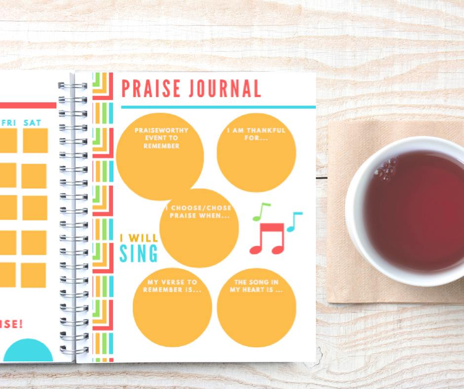 5 reasons you need a Sing and Praise Planner from Paradise Praises. Want to seek God as well as remember to give thanks and praise Him?
