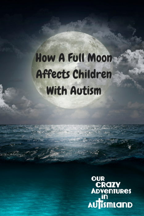 Why a full moon affects children with autism takes an in depth look at the parasitic reasons of the full moon as well as options for treatment.