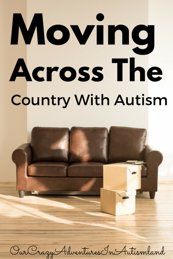 Moving Across The Country With Autism