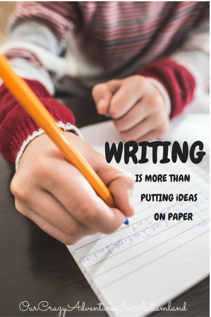Writing Is More Than Putting Ideas On Paper in order to make strong writers. There are many activities to make a successful writer.
