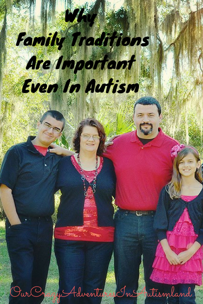 Why family traditions are important even in autism is a raw honest look at how one family looked past autism to build a family legacy worth sharing.
