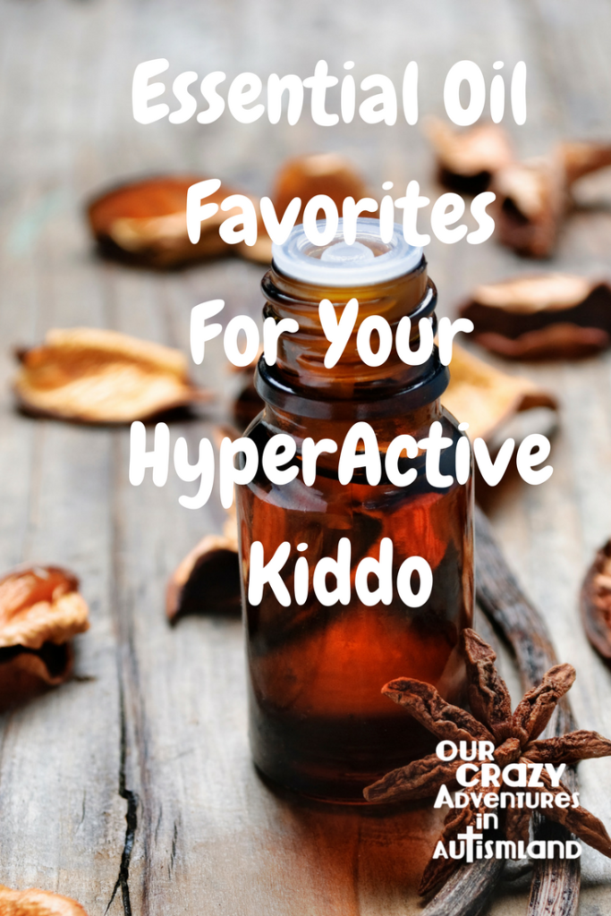 Essential oil favorites for your hyperactive kiddo gives you ideas on what to use to help your child settle down in order to maximize therapy appointments.