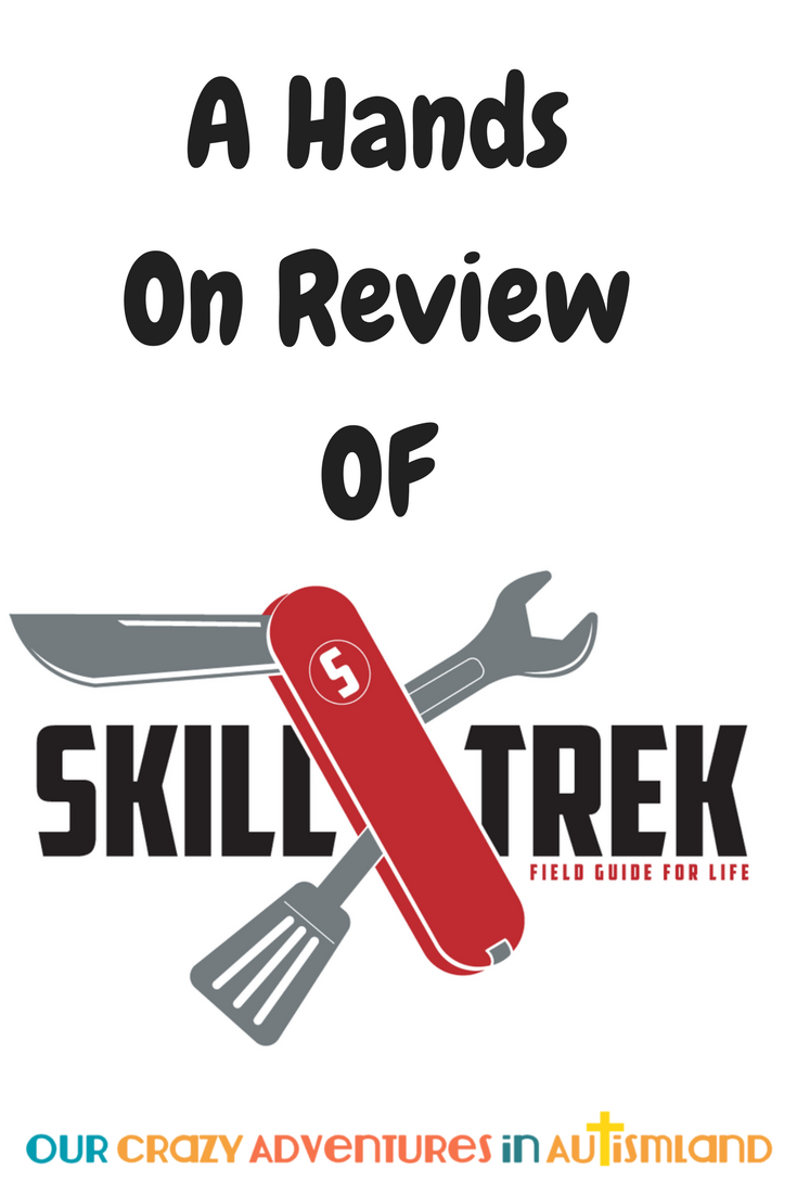 LIfe skills are an essential part of lessons in Autismland. A hands on review of SKill Trek Life Skills Curriculum is an inside look at how you can teach them.