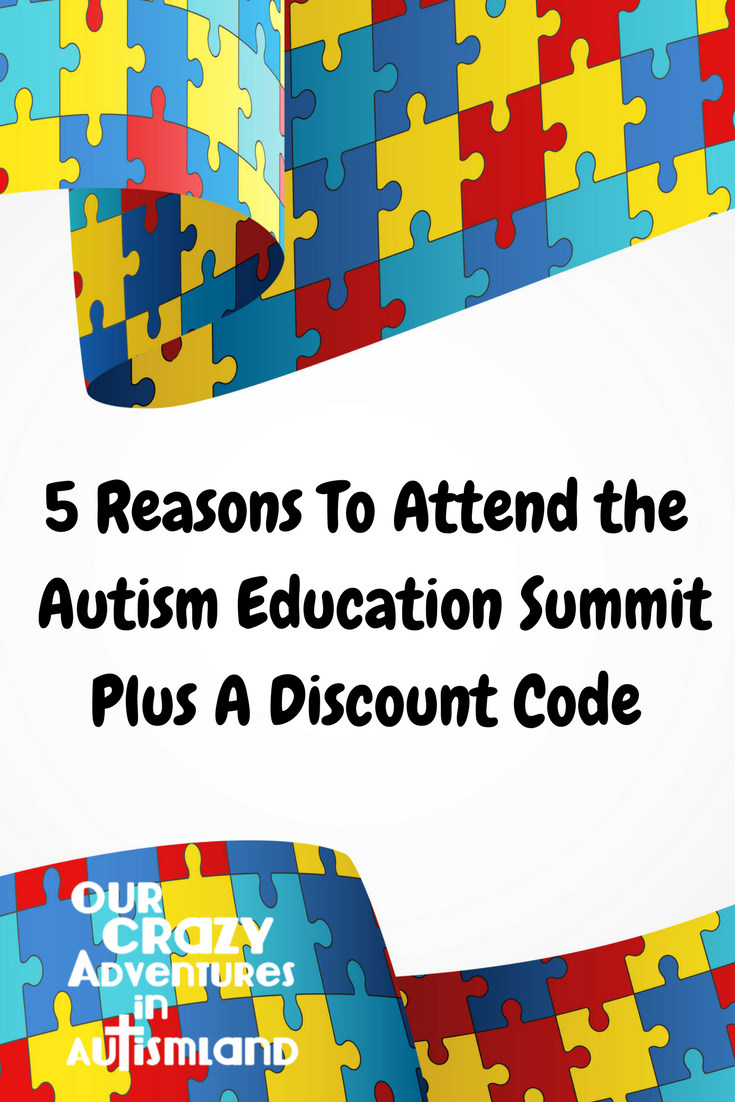 5 reasons to attend the Autism Education Summit plus a discount code shows you compelling reasons you need to travel to Dallas to learn from autism experts.