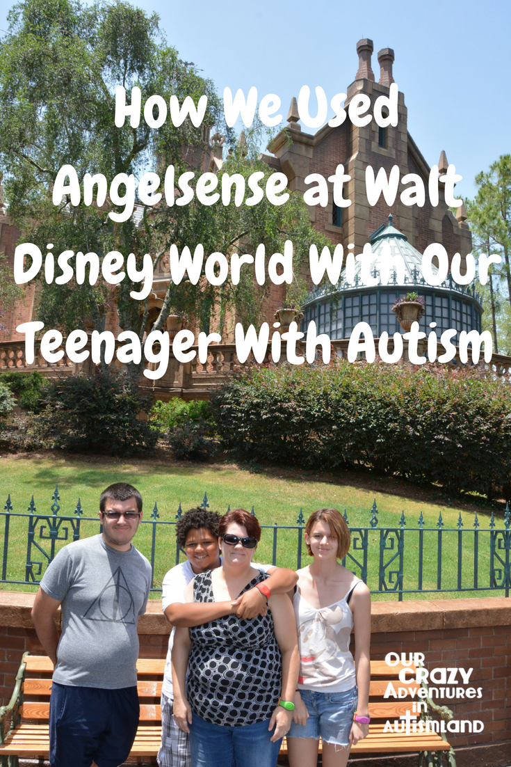 How we used Angelsense tracker at Walt Disney World with our teenager with autism to allow him independence while keeping him safe.