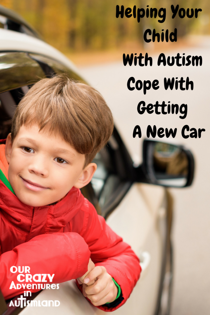 Helping your child with autism cope with getting a new car reminds you to use the resources available to you like Cars.com to make it less stressful.