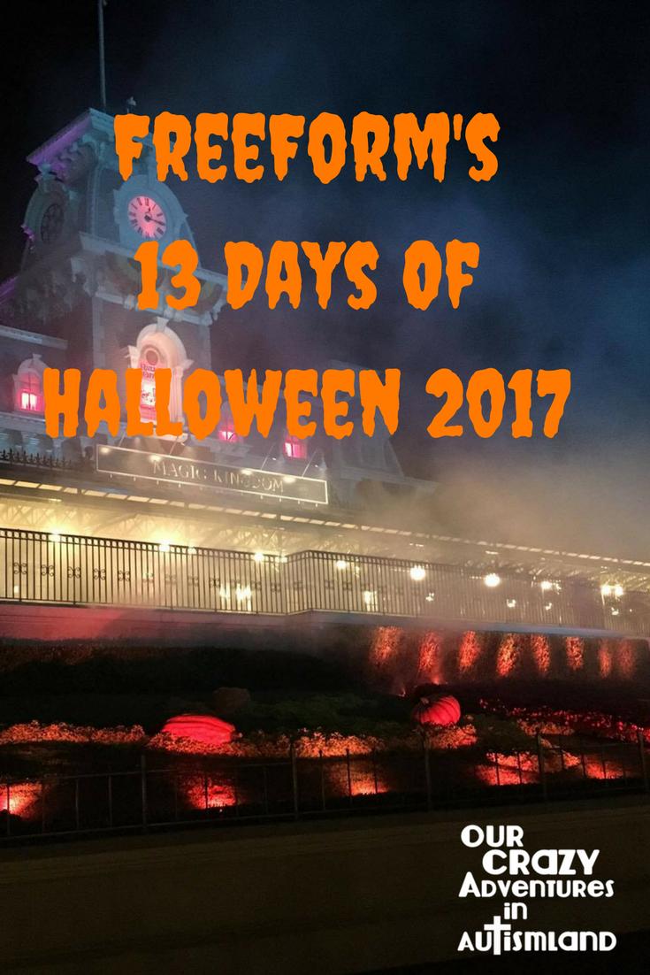 FreeForm's 13 Days Of Halloween Schedule