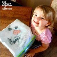 Build an Olaf Sensory Bag For Therapy Fun!