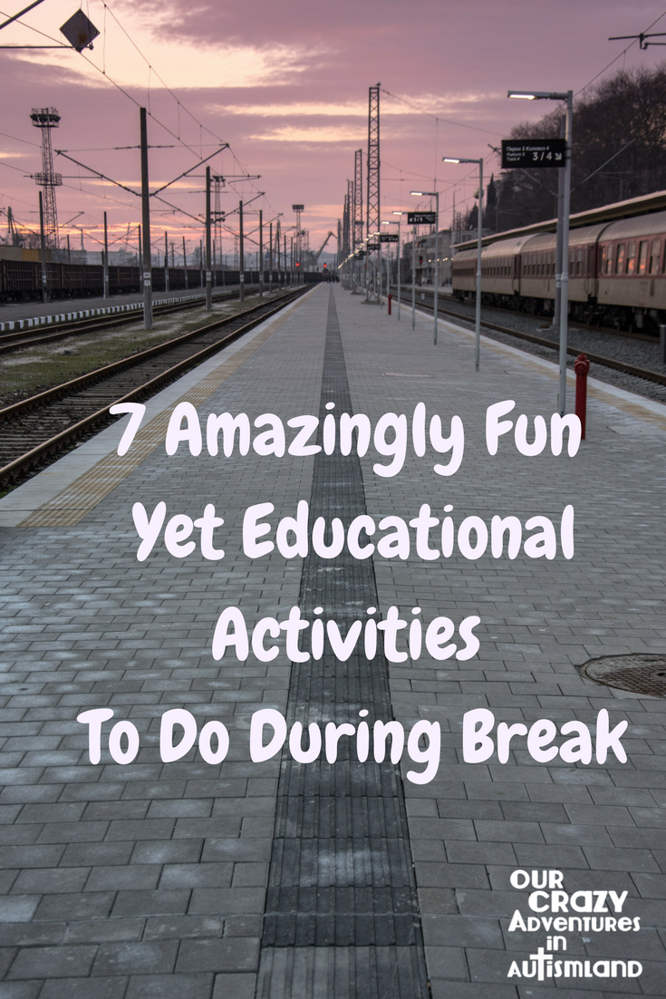 Need a plan for when you take a homeschool break? Why not take some fun field trips to enhance your child's learning? #autismland