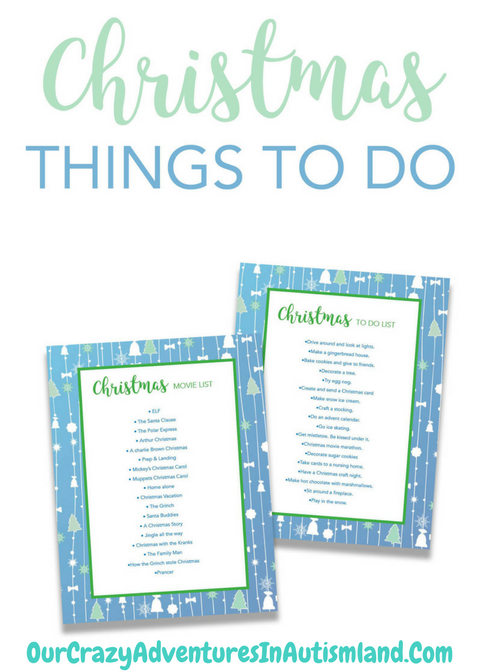 Want a fun list of Christmas activities to do with your child that don't cost an arm and a leg? Download these 3 printables for activities to do as well as movies to watch. The best traditions are the simplest ones.