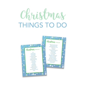 Christmas Activities Printable