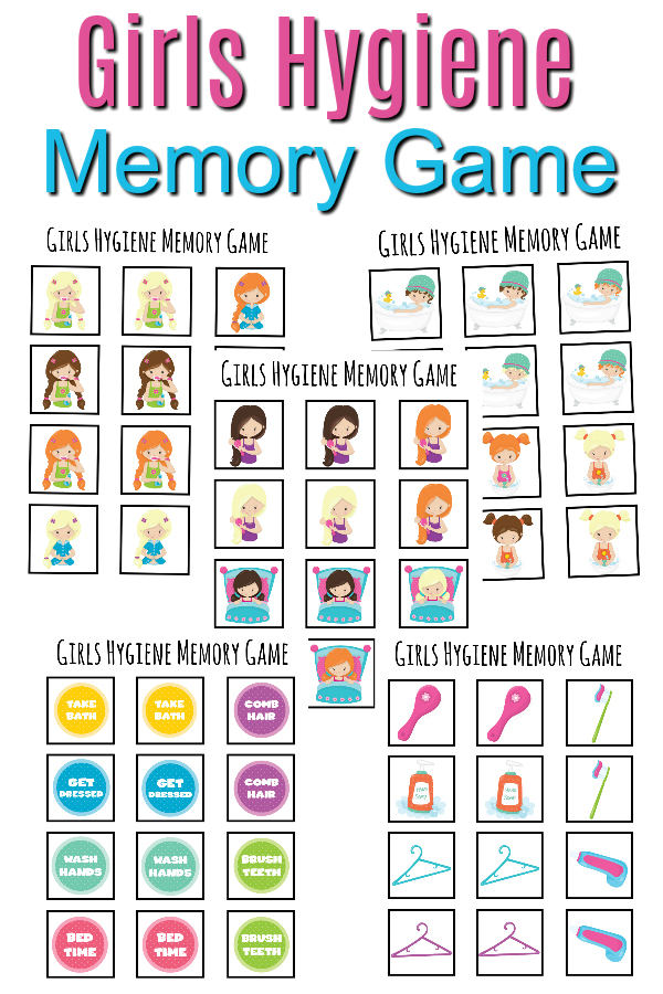 Want a fun way to teach girls with autism how to take care of their hygiene needs? It's no surprise that children with autism think in pictures. Using a hands on, highly visual game is a fun way to work on a much needed skill.