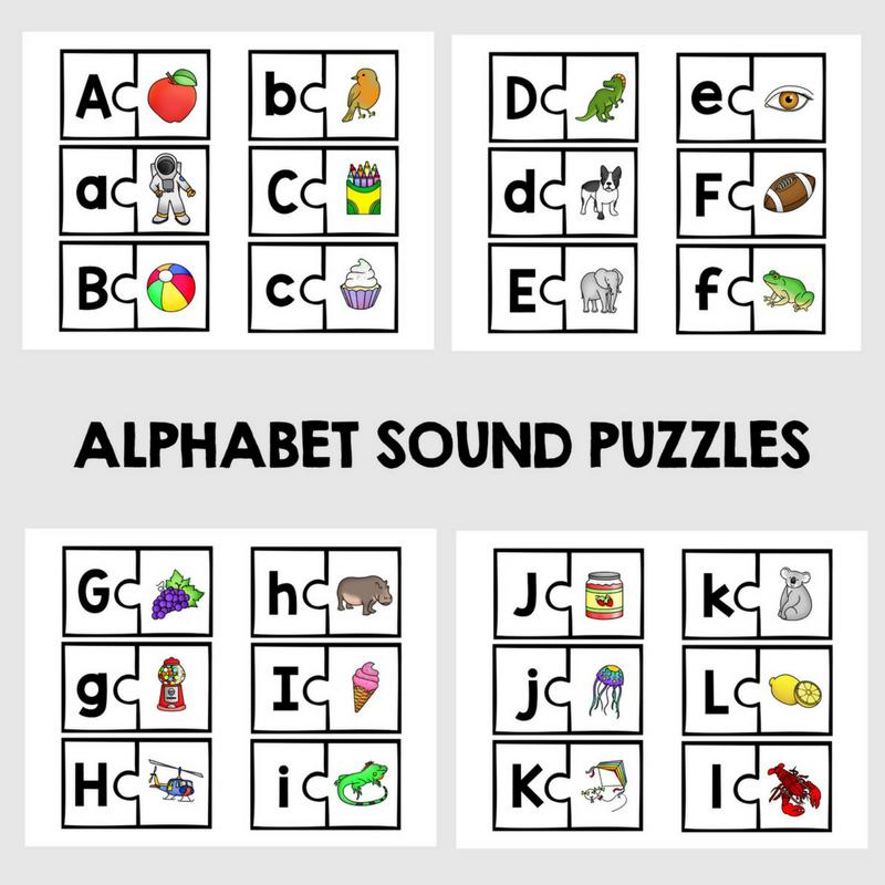 ABC Phonics Puzzles
