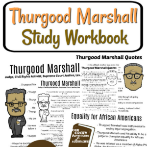 Thurgood Marshall Study Workbook