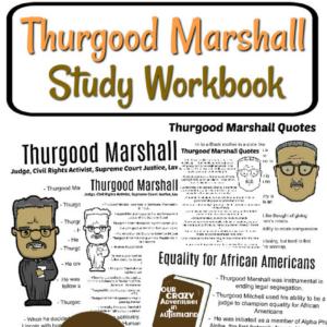 Thurgood Marshall Study Workbook