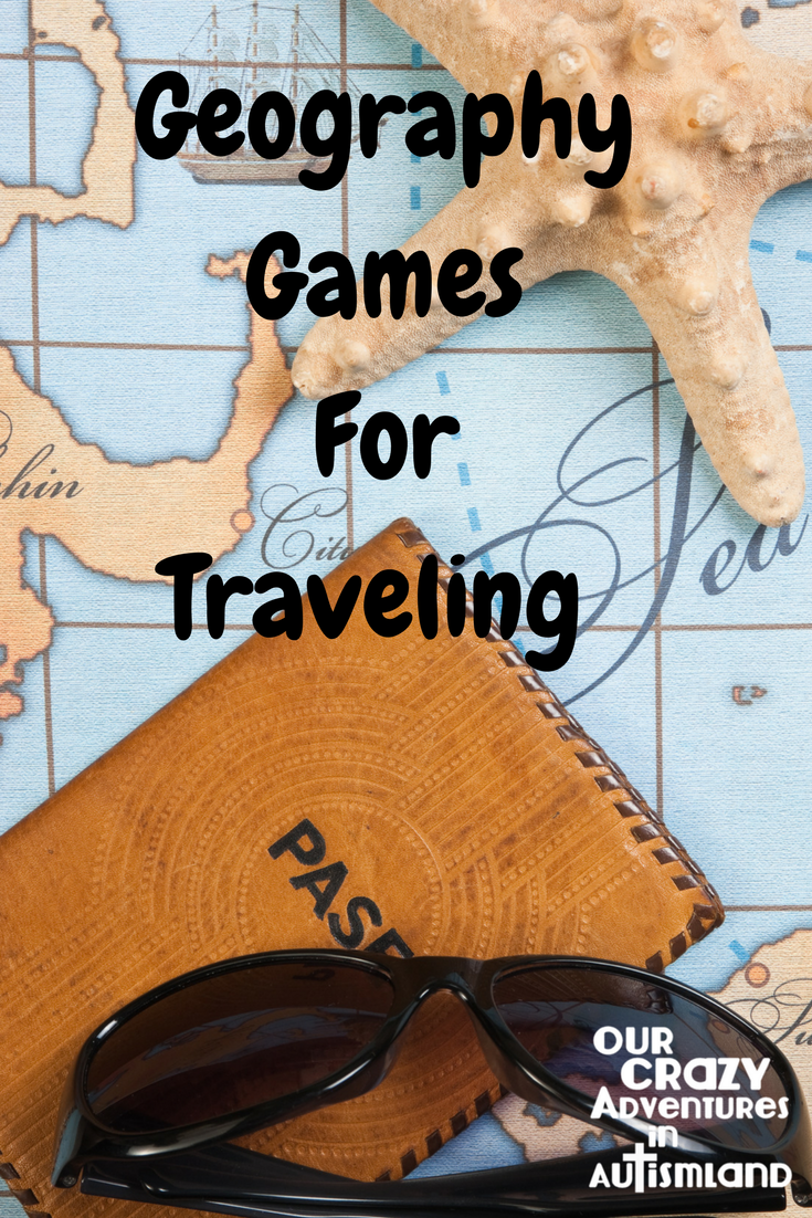 Geography games for traveling shows you how to use the wasted time when traveling to teach your children about their destination.