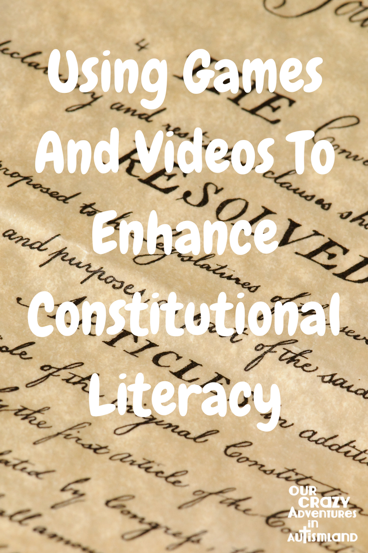 Using games and videos to enhance constitutional literacy is a fresh way to look at ways the principles of this great document are put into action.