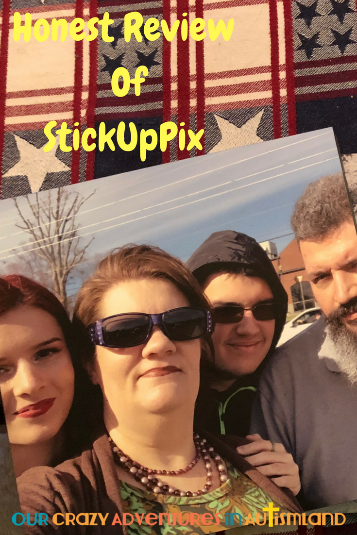 StickUpPix is a great way to move memories directly from your phone onto your walls. No need to put holes in your walls either as they come ready to hang! #lovestickuppix #sponsored